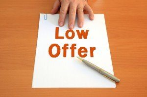 negotiate low settlement offer
